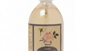 Un savon liquide bio parfumé à l'églantine de Marius Fabre