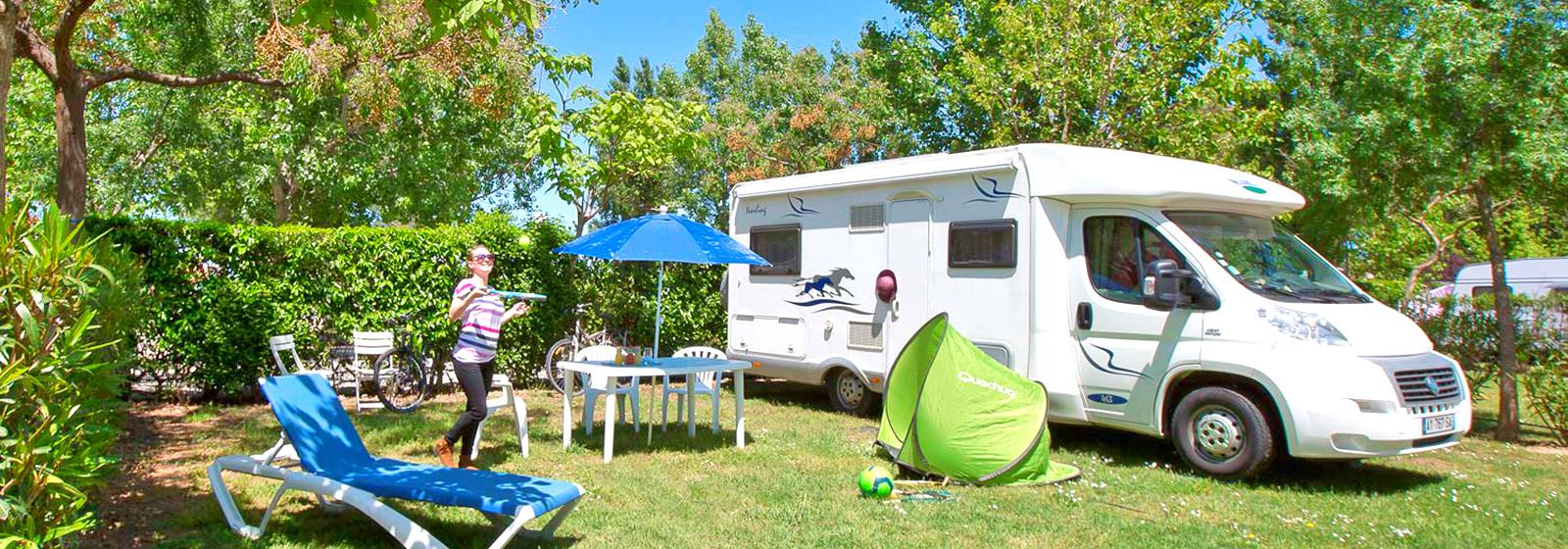 Emplacement tente confort – CAMPING LE FLORIDA